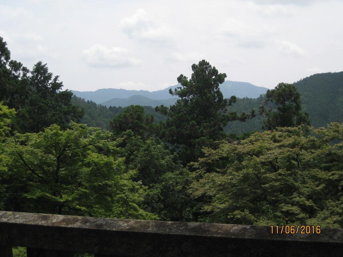Kuramavuoren huipulla.
