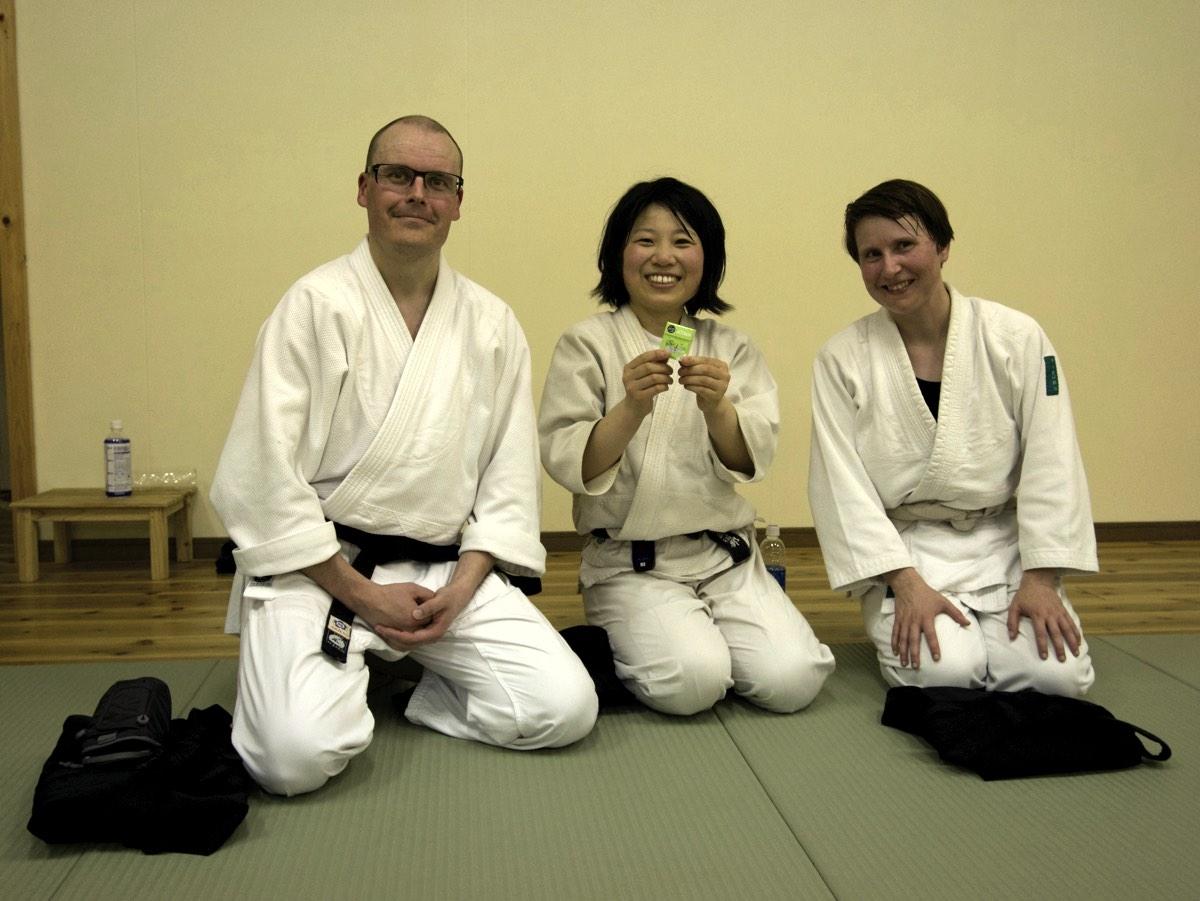 Keikon tapasimme edellisellä kerralla Kiotossa. Hän on vieraillut Suomessa muun muassa Tampereella.