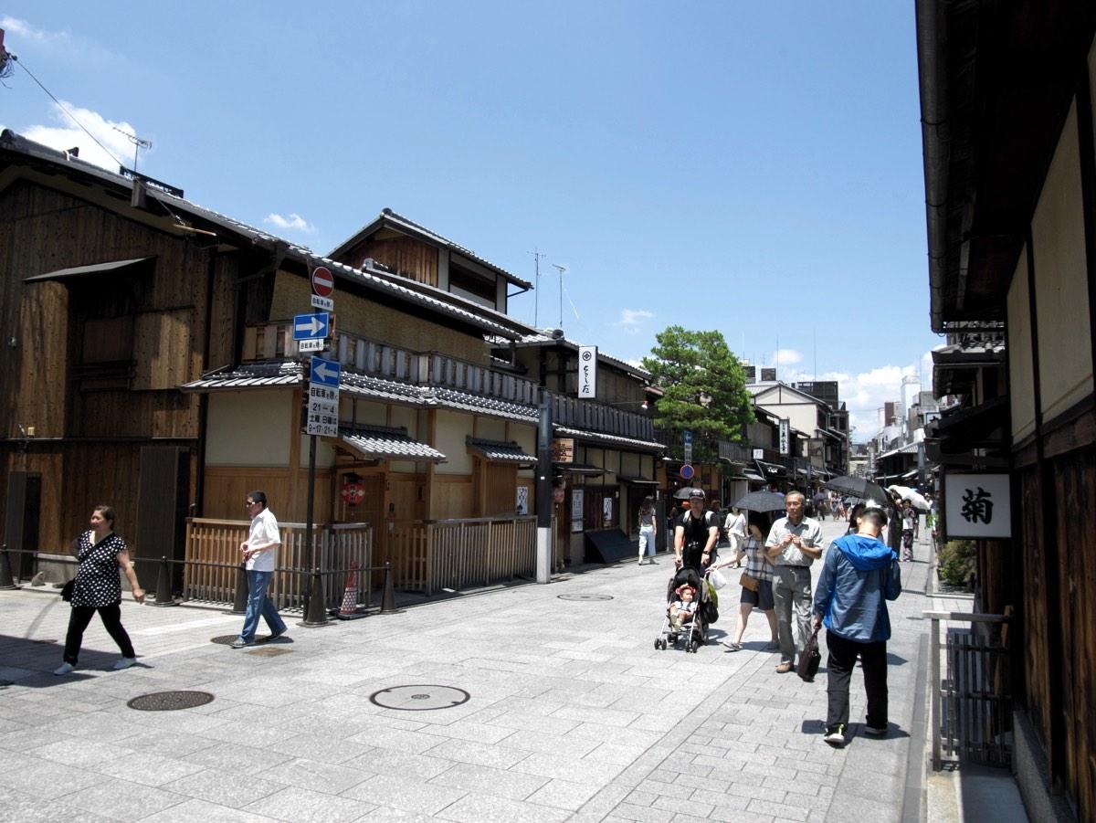 Gionin alue Kiotossa.