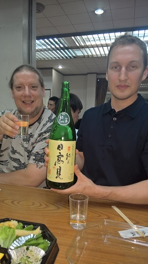 Kaitsu, Kristian ja sakepullo juhlien jatkoilla