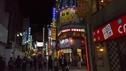 Shinjukun yö