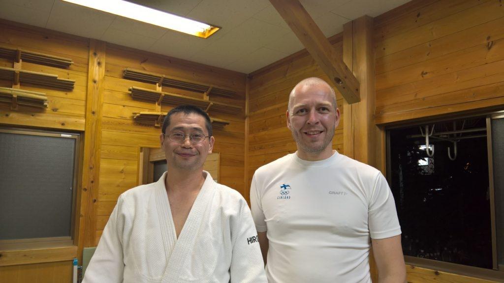Hiroaki-sensei ja allekirjoittanut