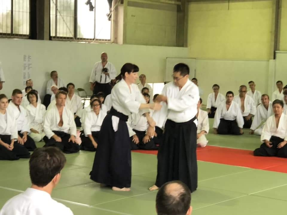 Marja with Hiroaki -sensei