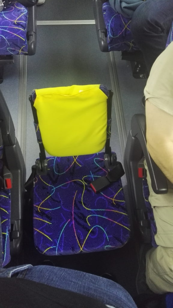 My first class seat