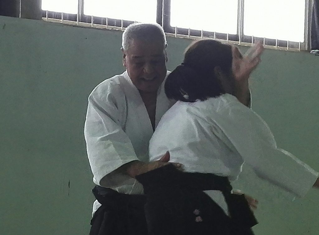 Kobayashi -shihan with his son's daughter