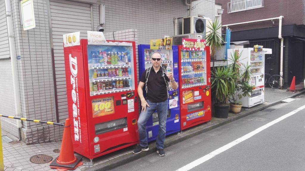 Japani, automaattien luvattu maa