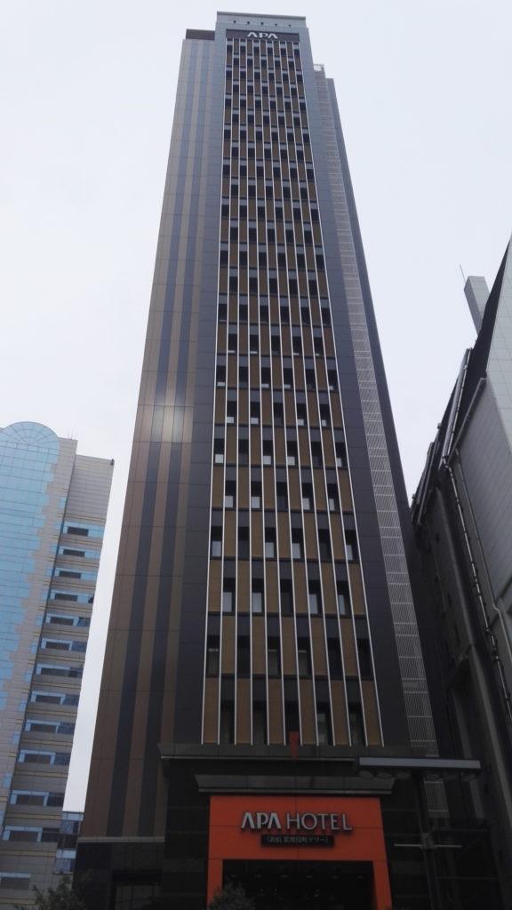 """Hotellimme Shinjukun """"punaisten lyhtyjen"""" alueella"""