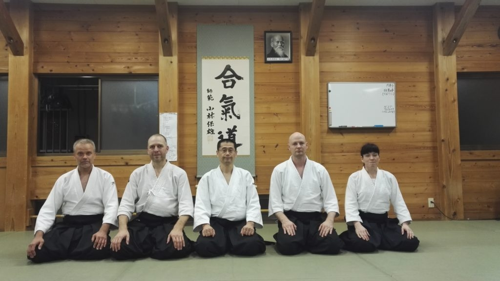 After the camp we went to Hiroaki-senseis keiko to Tokorazawa dojo, very nice dojo, very nice atmosphere